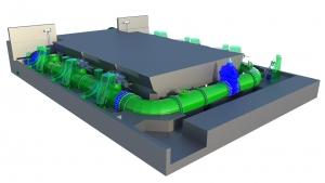 Gałąźnia Mała - projekt remontu wiekowej elektrowni przy użyciu narzędzi XXI wieku